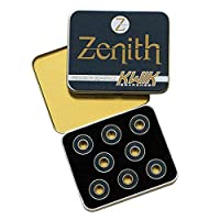 KwiK 轴承 - Zenith 轴承 - 16 件套热处理合金滚轮滑冰轴承 - 8 毫米