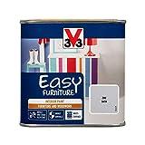 V33 110793 简易家具油漆,白色府绸缎 灰色(Zinc) 500ml 110803
