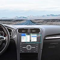 J&D 兼容福特 Fusion Explorer Edge Expedition Mustang Ranger Fiesta Escape/Ford F-150 F-250 F-350 F-450 8 英寸汽车导航屏幕保护膜,1 件装高级水晶透明屏幕保护膜 1-Piece