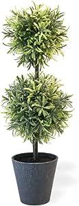 波士顿国际装饰人造盆栽植物 迷迭香 19-Inches MGC19116