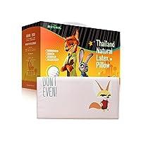 Taipatex泰国原装进口 迪士尼正版授权天然乳胶 幼儿枕 婴儿枕 黑老大 25 * 47 * 5cm(新老包装 随机发货)
