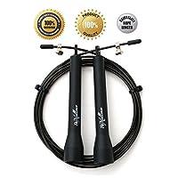 Speed Jump 缆绳,轻量级可调缆绳适用于有氧健身,锻炼和运动训练
