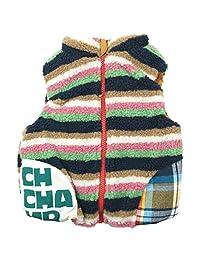 《秋冬春对应》 CHILD CHAMP(CHILD CHAMP)长毛绒和尼龙的双面背心 NO.C-271059 [対象] 18ヶ月 ~ P 80
