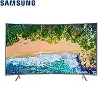 【顺电自营】SAMSUNG 三星 UA55NU7300JXXZ 55英寸 4K智能 曲面电视 液晶电视 纤窄边框 HDR 客服:0755-83181156 可开16%增值税专用发票