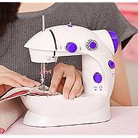 家用电动缝纫机便携台式电动小型迷你多功能带灯