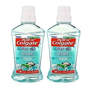 Colgate 高露洁 草本盐爽 漱口水 500ml×2(0酒精)