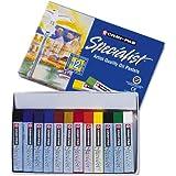 Sakura ESP12 12-Piece Cray-Pas Specialist Assorted Colors Oil Pastel Set