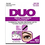 Duo Quick Set Striplash 胶粘剂,深色
