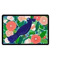 Samsung Galaxy Tab S7+, Android Tablet mit Stift, 5G, WiFi, 3 Kameras, großer 10.090 mAh Akku, 12,4 Zoll Super AMOLED Display, 256 GB/8 GB RAM, Tablet in bronze