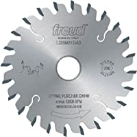 Freud LI25M31AA3 80mm 12 Tooth Carbide Tipped Conical Scoring Blade for Scoring The Coating on Double-Sided Laminate Panels