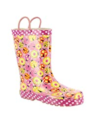 Western Chief 儿童女式 LIMITED EDITION 瓢虫花园雨鞋
