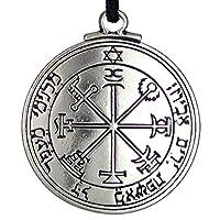 Pentacle of Jupiter Talisman Key of Solomon Seal Pendant Hermetic Enochian Kabbalah Pagan Wiccan Jewelry