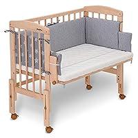 FabiMax Pro 折叠床,带床垫和床单 06. Sterne groß / grau mit Matratze COMFORT