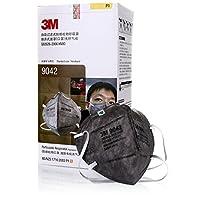 3M 9042口罩头戴式 活性炭除异味 防雾霾 PM2.5口罩25只/盒(亚马逊自营商品 由供应商配送)