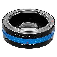 Fotodiox 专业镜头安装适配器 - Mamiya 35mm (ZE) SLR 镜头适用于 Nikon F 安装单反相机机身,带内置光圈控制表盘