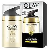 OLAY 玉兰油 多效修护系列 SPF 30 七效合一抗衰老保湿霜,强SPF保护,50 ml