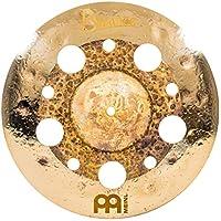 Meinl Cymbals Byzance 35.56 厘米双色多垃圾碰撞带孔 — 土耳其制造 — 手工锤打 B20 青铜色,2 年保修(B14DUMUTR)