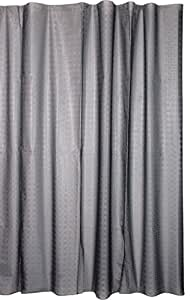 Kiera Grace Peva Shower Curtain, 70 by 72-Inch, Grey Geometric