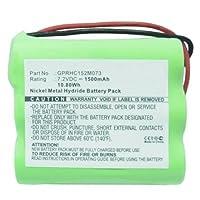 MPF 产品 4408927 GPRHC152M073 替换电池兼容 iRobot Braava 320、Braava 321、薄荷4205 地板清洁/拖把机器人