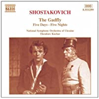 进口CD:牛虻组曲 五天五夜组曲 Shostakovich:Gadfly Suite(The) Five Days-Five Nights Sui(CD)8.553299