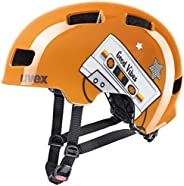 uvex 男女通用 hlmt 4 自行车头盔,橙色,51-55 厘米