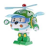 Silverlit 银辉 POLI系列 儿童汽车玩具人偶模型 海利变形机器人(可变形)SVPOLI83169STD