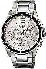 CASIO 卡西欧 MTP-1374D 时尚优雅商务男士手表防水石英表