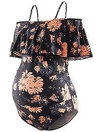 GINKANA 孕妇分体式泳衣孕妇比基尼夏季泳装孕妇沙滩装