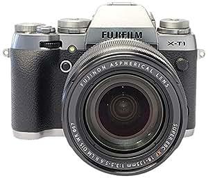 FUJIFILM 富士 X-T1GS 微单相机 微单相机 套机 (XF18-135mm 标准变焦镜头) (碳晶灰色)