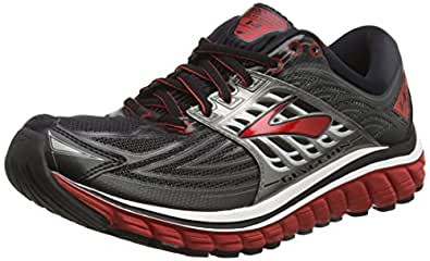 Brooks Glycerin 14, Men's Competition Running Shoes, Black (Black/Red/anthracite), 6.5 UK (40.5 EU)