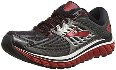 Brooks Glycerin 14, Men's Competition Running Shoes, Black (Black/Red/anthracite), 6.5 UK (40.5 EU)