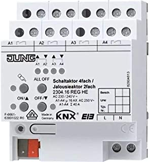 Jung 2304.16reghe KNX 开关制动器 4 向