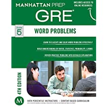 GRE Word Problems (Manhattan Prep GRE Strategy Guides Book 5) (English Edition)