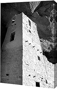 "Douglas Taylor 创作的 PrintArt ""Cliff Palace Detail I BW"" 画廊装裱艺术微喷油画艺术印刷品 20"" x 30"" GW-POD-11-PSTLR-471-20x30"