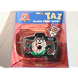 Looney Tunes Taz 会说话的点和射击闪光相机(需要 110 片和 1 节 AA 电池)