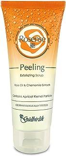 Rosense Peeling 去角质磨砂膏,带玫瑰油和洋甘菊提取物