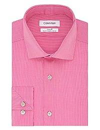 Calvin Klein 卡尔文·克莱恩 男式 免烫弹力修身正装衬衫