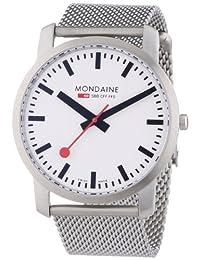 Mondaine 瑞士国铁表 瑞士品牌 石英手表 男士腕表 A638.30350.16SBM(亚马逊自营商品, 由供应商配送)