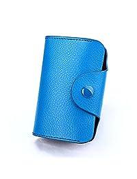 真皮卡包风琴页多卡位头层牛皮防磁驾驶证新款银行信用卡保护套RFID零钱包男女