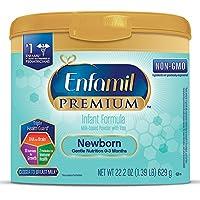 美赞臣Enfamil 新生儿配方1段奶粉(0-3个月) 22.2盎司(629g)/桶(可重复使用桶)