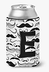 Caroline's Treasures CJ2009-DLITERK Letter D Moustache Initial Wine Bottle Koozie Hugger, 750ml, Multicolor