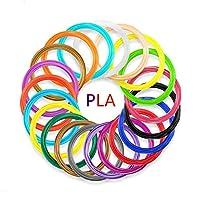 """带 PCL 细丝笔芯的 3D 笔 - 专业 3D 打印打印机笔带 PLA/PCL 细丝模式,自动喂食,无压痕,USB 充电,生日礼物送给孩子青少年成人 """"Multi"""" SL-BH005"""