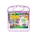 Crayola 绘儿乐 进口学生绘画文具套装 25色可拧转蜡笔礼盒04-2705