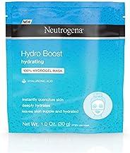 Neutrogena Hydro Boost 保湿保湿保湿 * Hydrogel 面膜含玻尿酸,1 盎司,每包 12 个