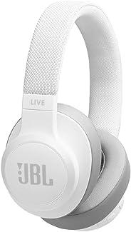 JBL Live 500BT 無線頭戴式耳機帶語音控制JBLLIVE500BTWHT