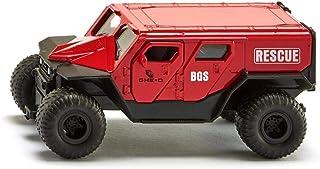 SIKU 2307,GHE-O 救援车,1:50,金属/塑料,红色,多种功能,可与SIKU 模型组合,相同比例
