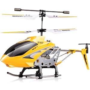 司马 遥控飞机 陀螺仪遥控直升机 S107G (稳定耐摔)(不同颜色随机发货)