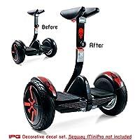 IPG For Segway miniPRO | 智能自动平衡个人运输车悬浮板装饰滑板车配件乙烯基贴花 包裹皮肤 Do it Yourself 红色