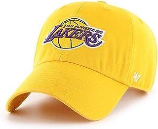 '47 NBA 洛杉矶湖人队 Clean Up 可调节帽子,黄色,均码