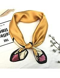 夏季时尚小方巾韩版包包丝巾小领巾头巾
